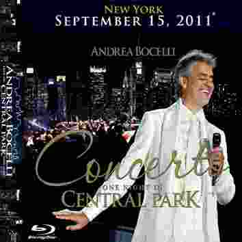 Andrea Bocelli one night in Central Park
