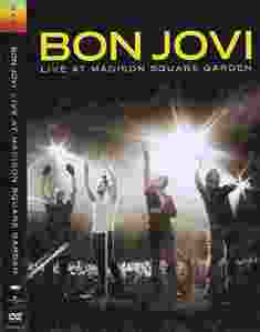 Bon Jovi live at Madison Square Garden