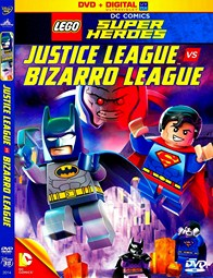 LEGO liga de la justicia vs. Bizarro League